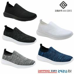 DREAM PAIRS Men's Slip on Loafer Breathable Fashion Sneakers